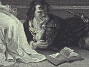 Image for Books in a Hamlet Illustration