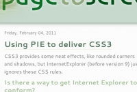 Image for Using PIE to deliver CSS3