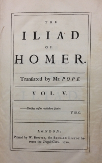 Image for Homer's Iliad
