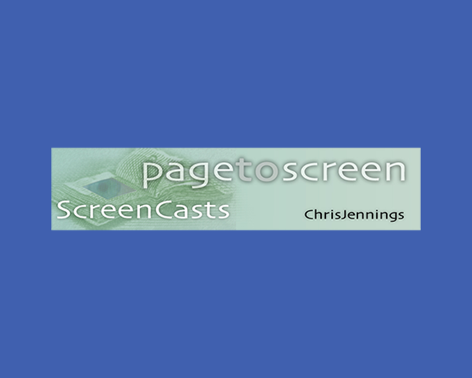 PagetoScreen Screencasts
