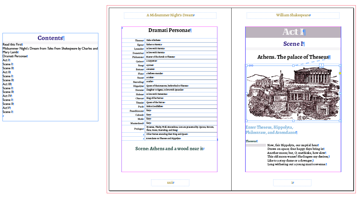 Image For InDesign CC Print And EPub From The Same File