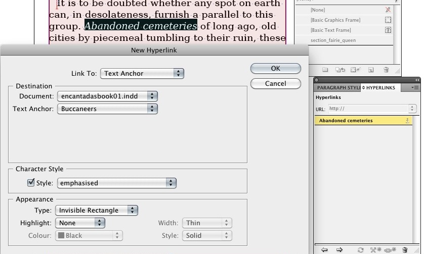 how to include hyperlink in pdf