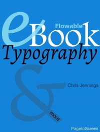 Image for eBook Typography for Flowable eBooks